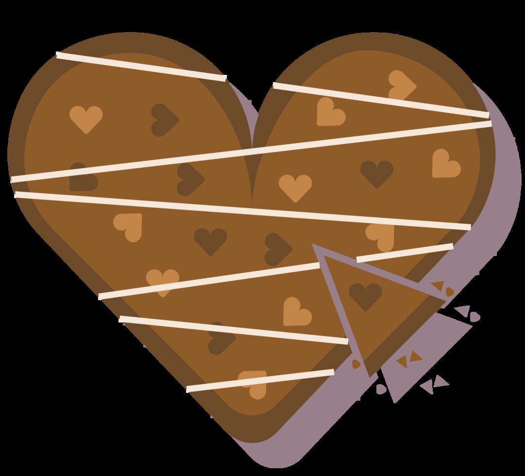 torta de coração png