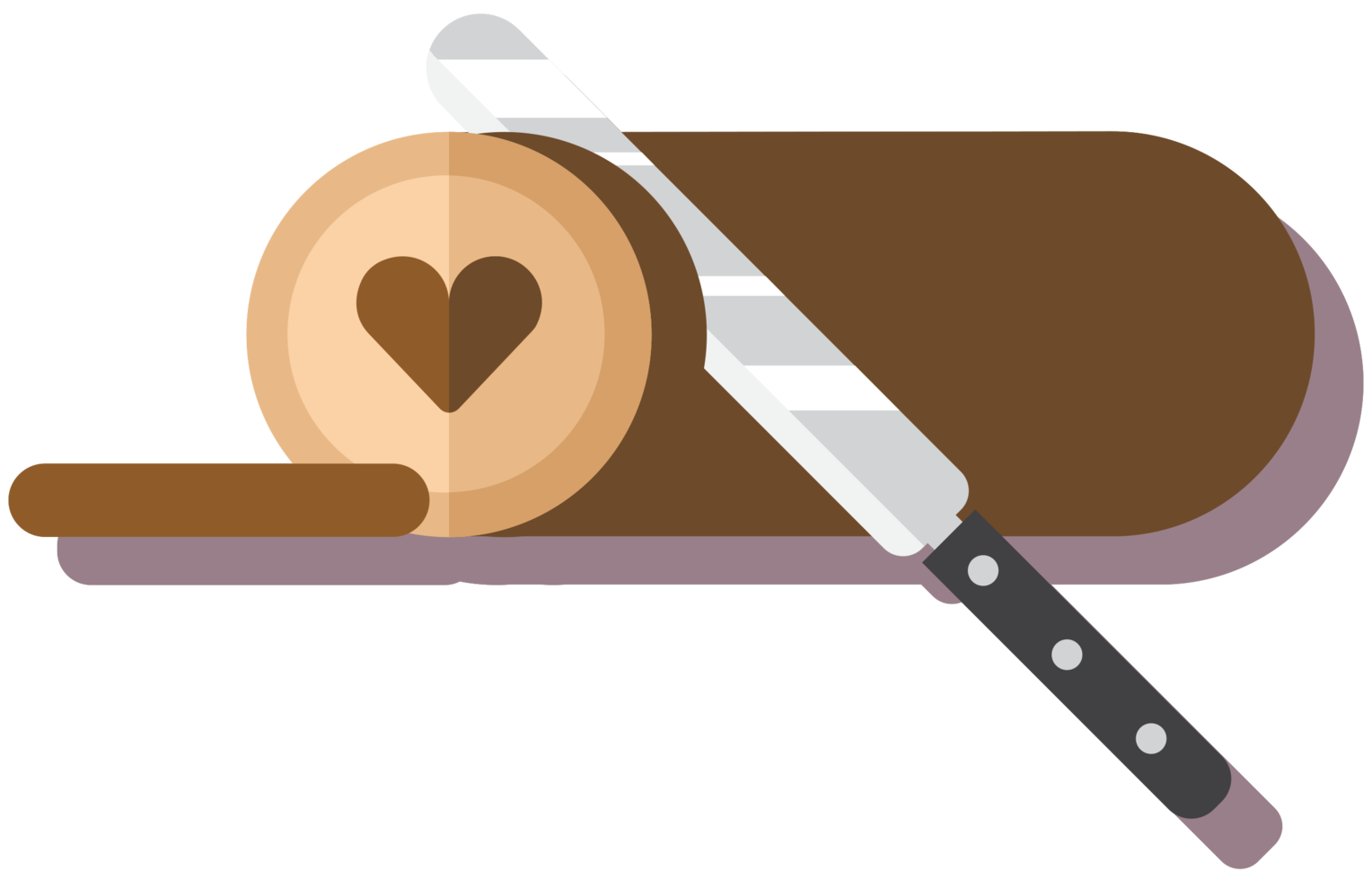 Heart cake png