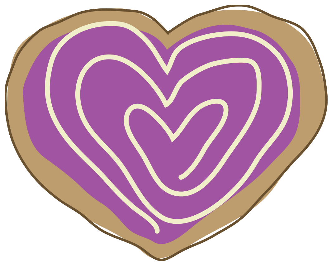 galleta del corazón png