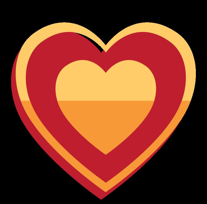 gouden hart png