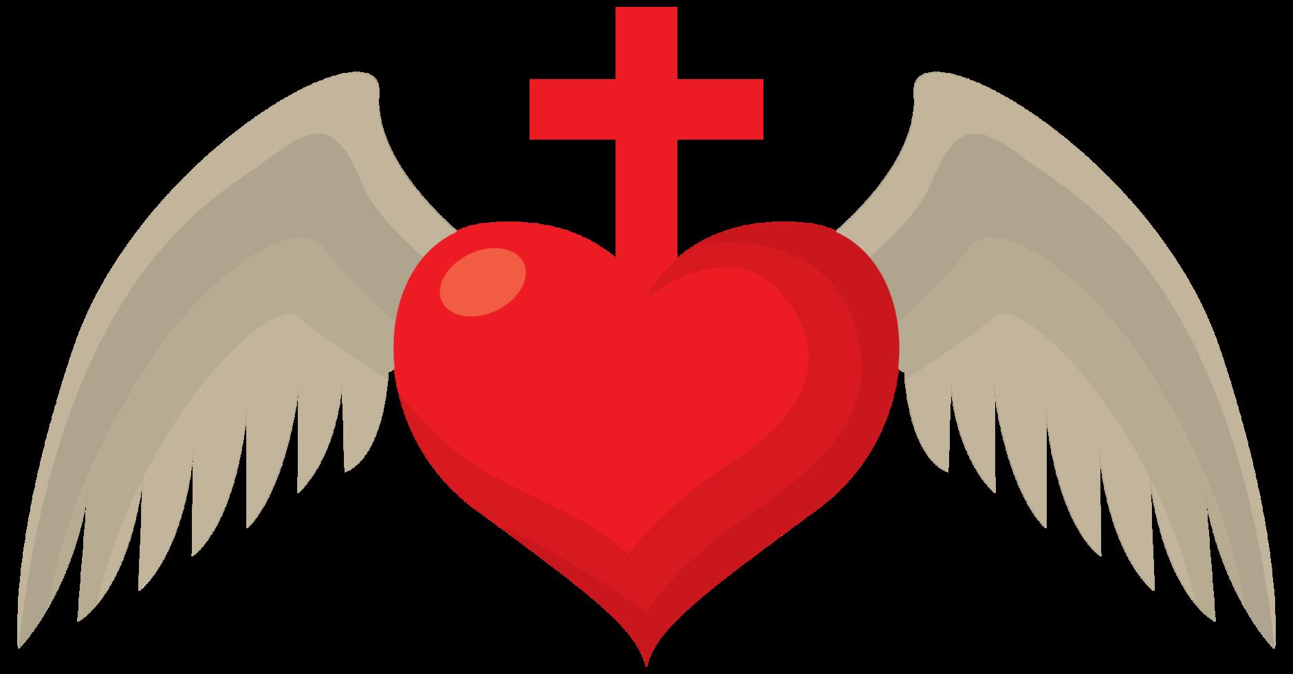 ala del sagrado corazón png