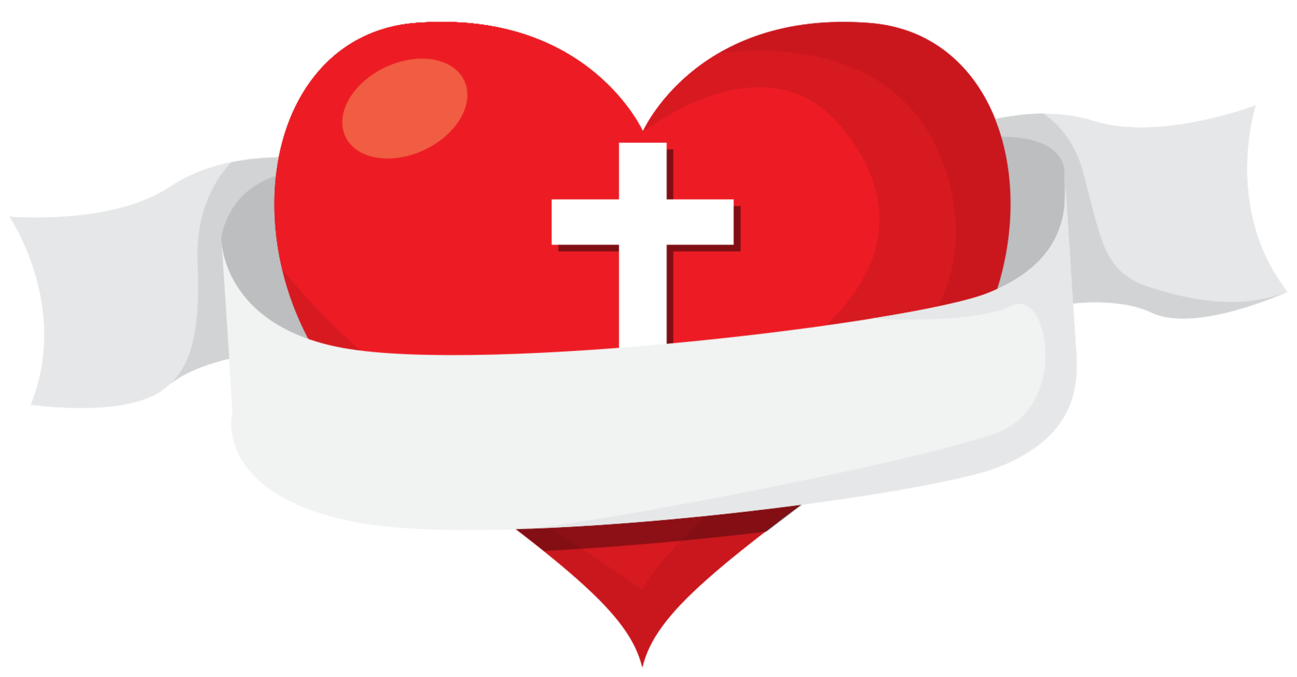 heilig hart banner png