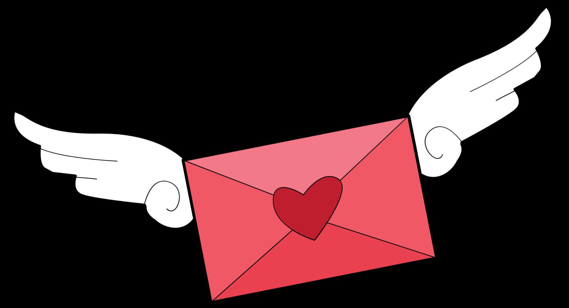 hjärta brev png