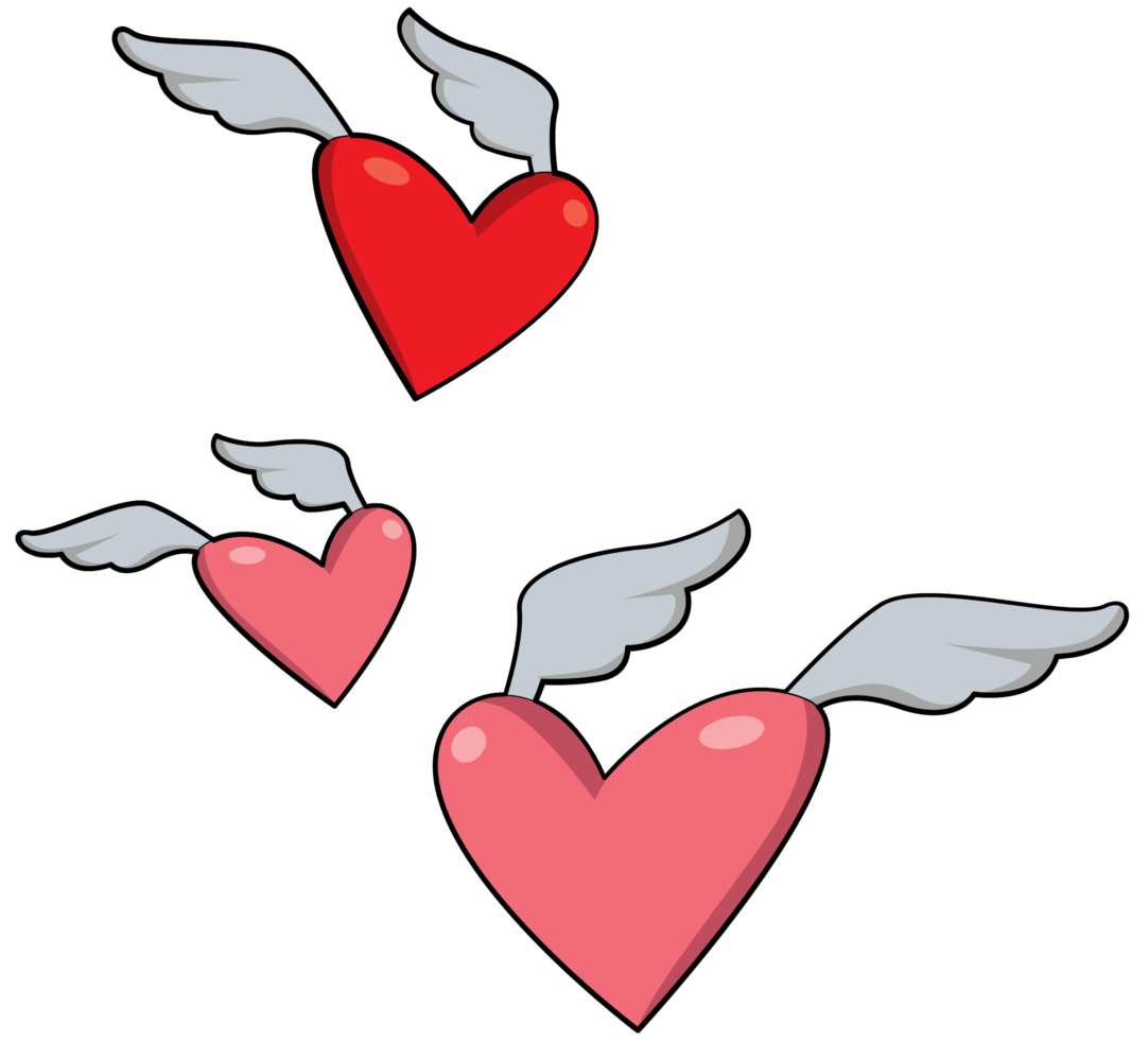 aile de coeur png