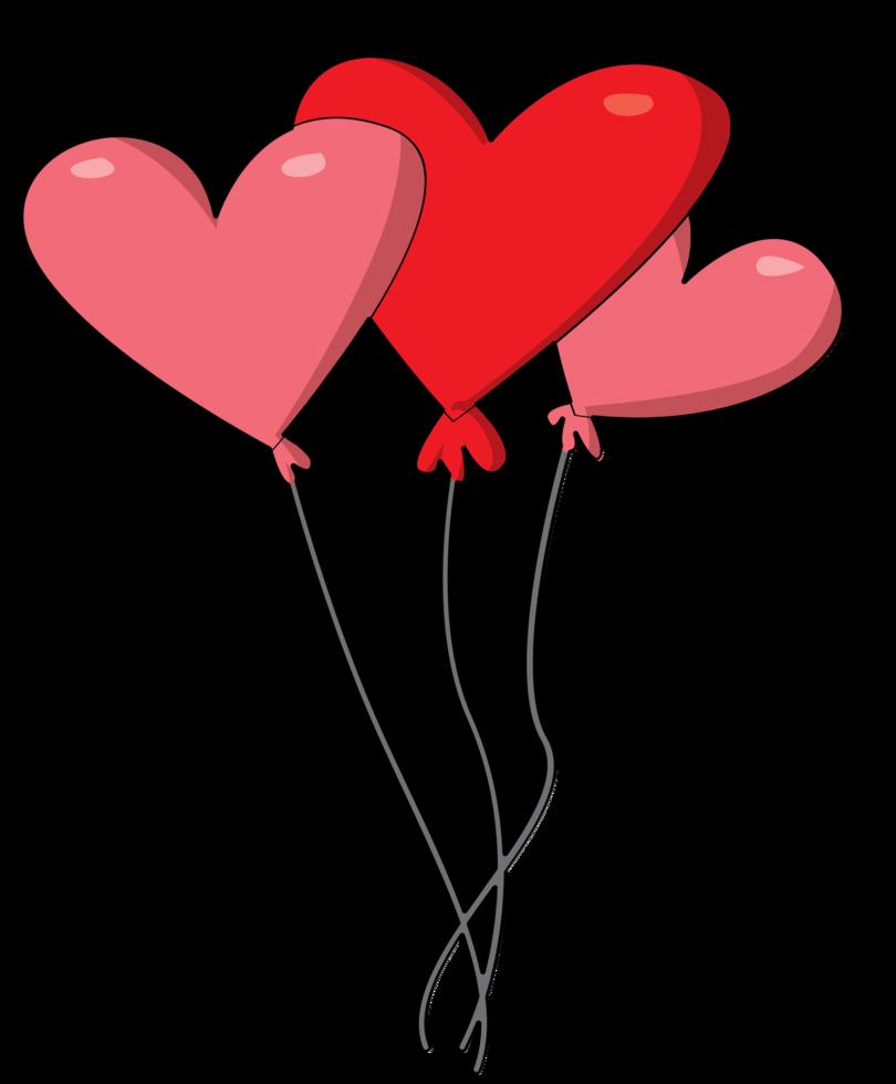 hjärta baloon png