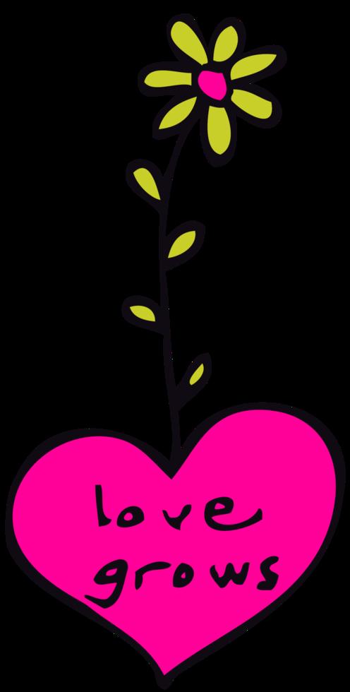 hjärta blomma png