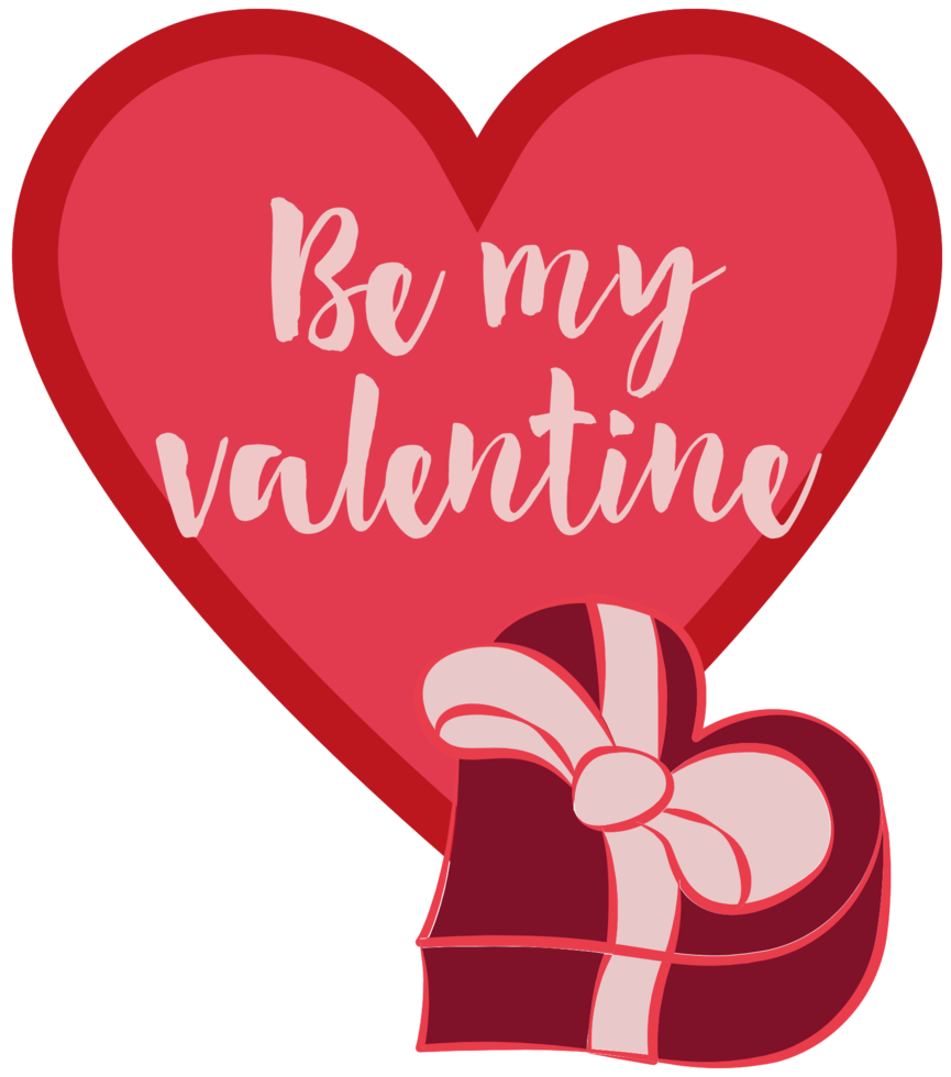 Heart valentine png