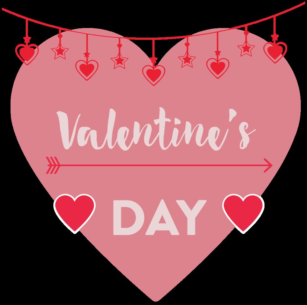 hart Valentijnsdag png
