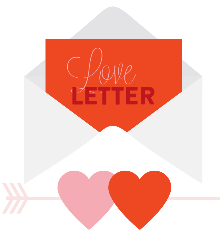 carta de corazon png