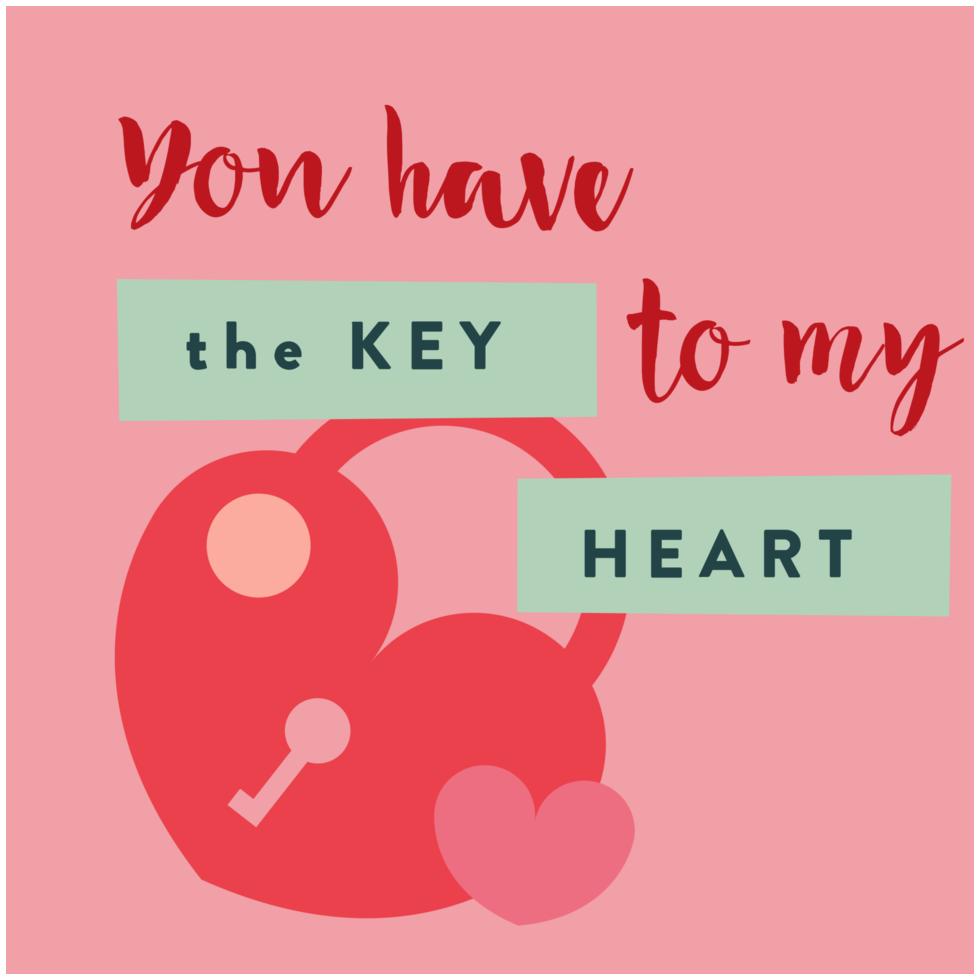 tarjeta de San Valentín del corazón png