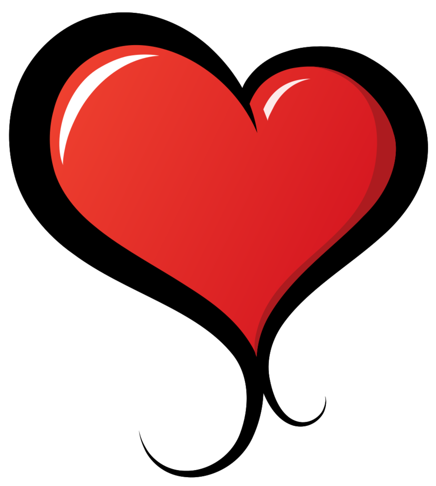 tatuaggio del cuore png