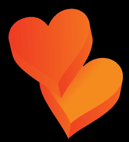 corazón 3d png