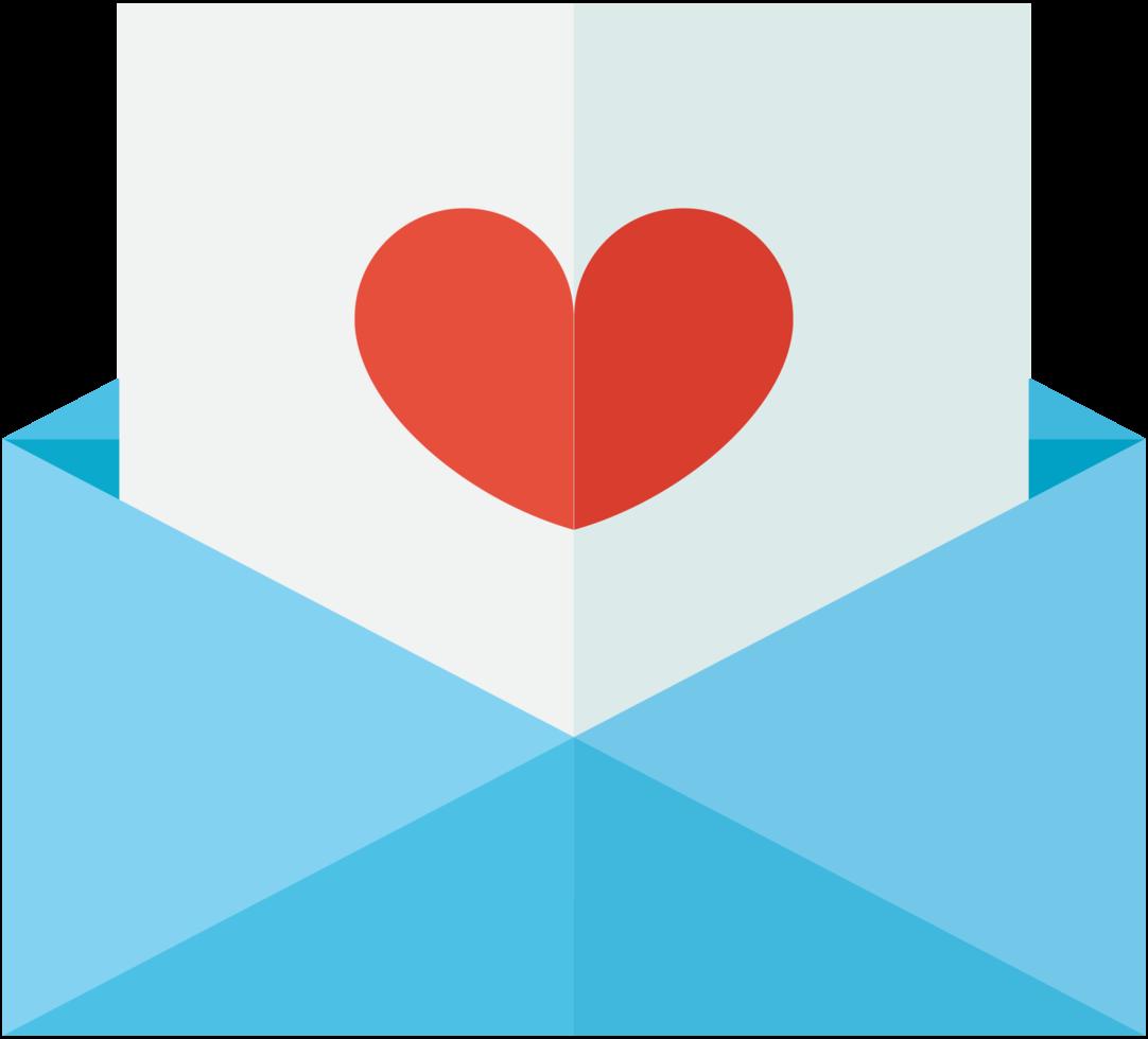 hjärta bröllop brev png