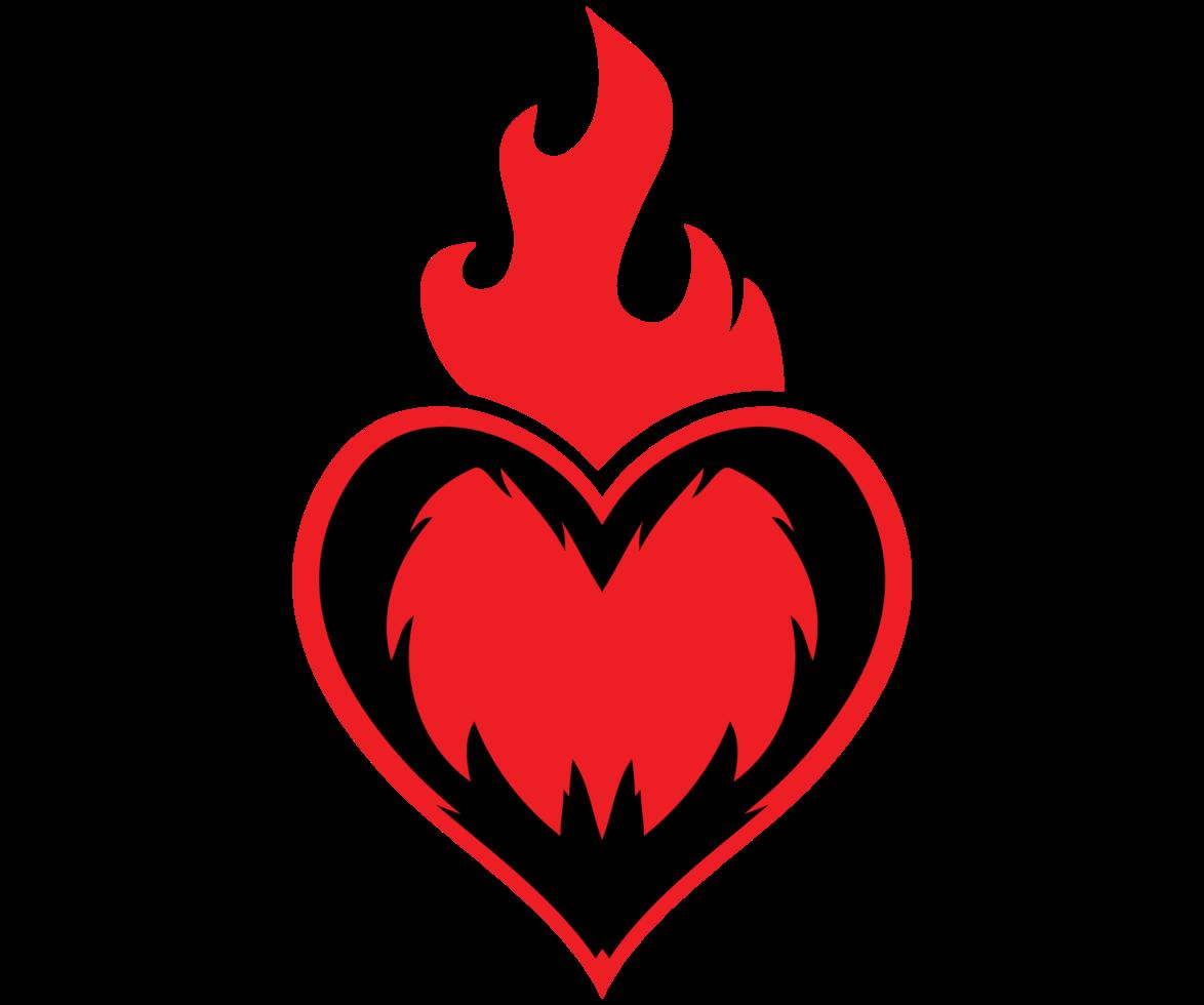 heiliger Herzflügel png