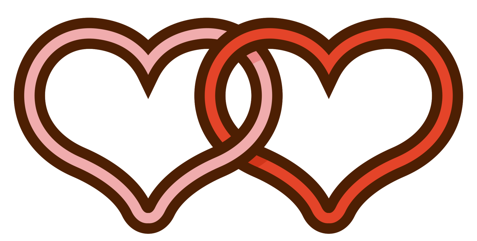 sposi cuore png