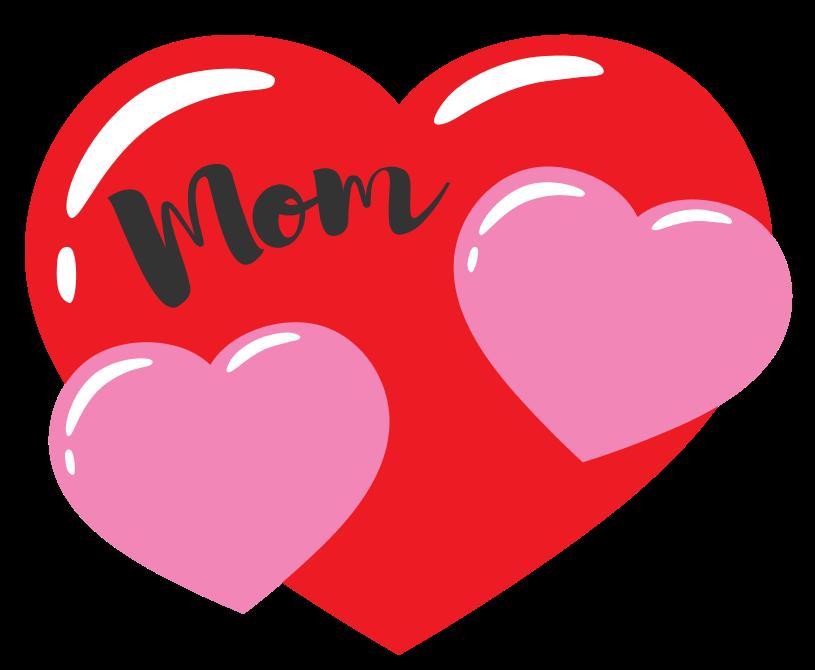 hart moeder tattoo png