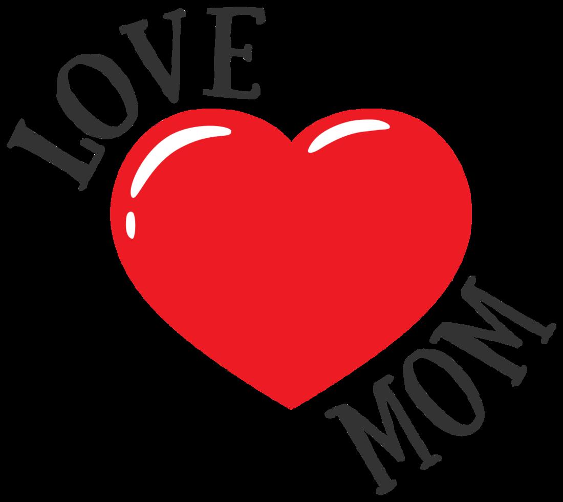 tatouage maman coeur png