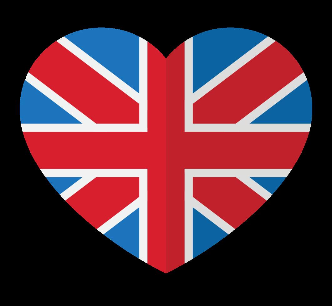 hart Groot-Brittannië png