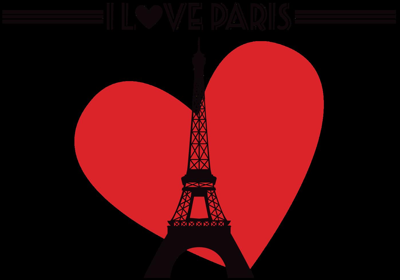 corazón paris png