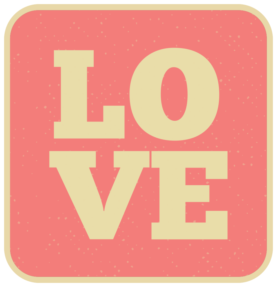 error tipográfico de amor png