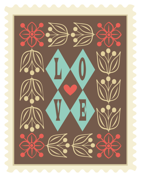 tipografia de cartaz de amor png