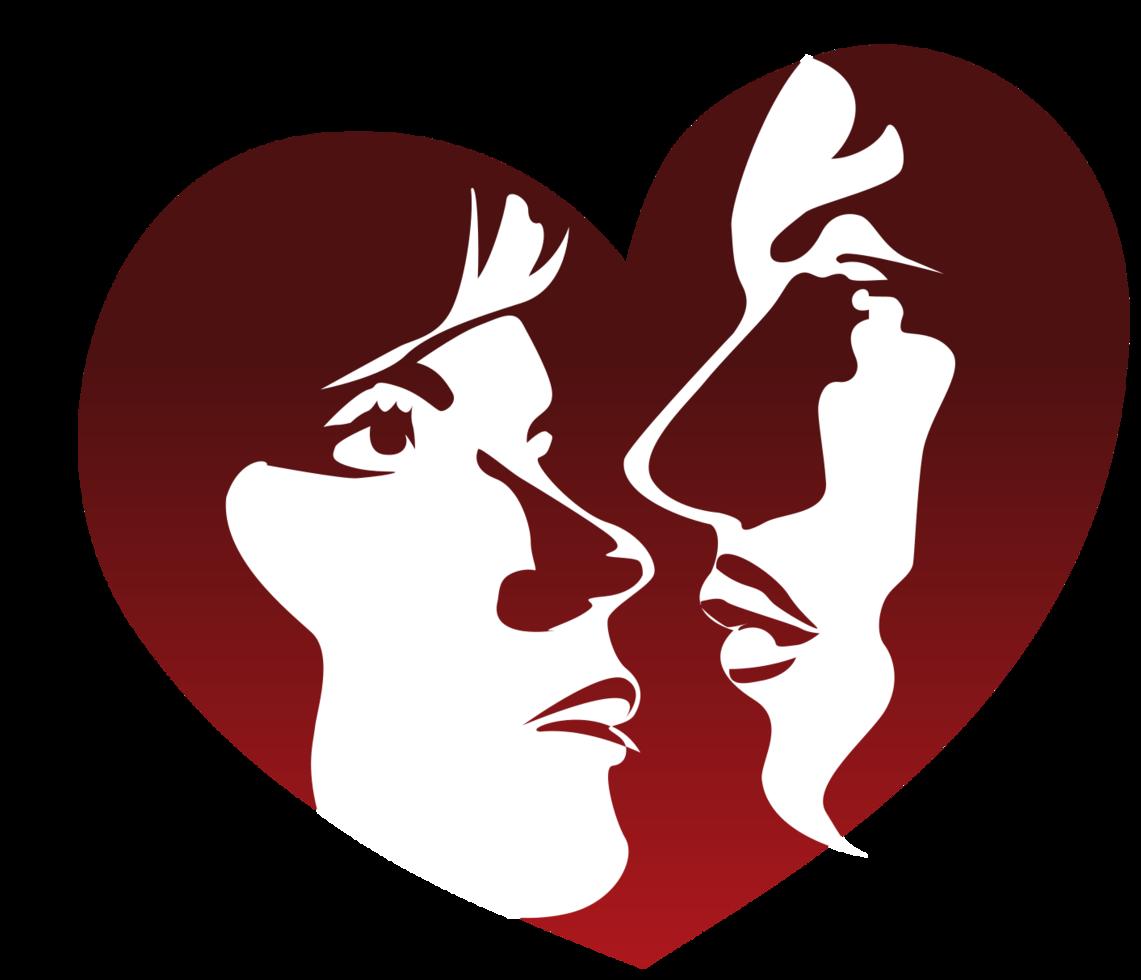 coppia innamorata png