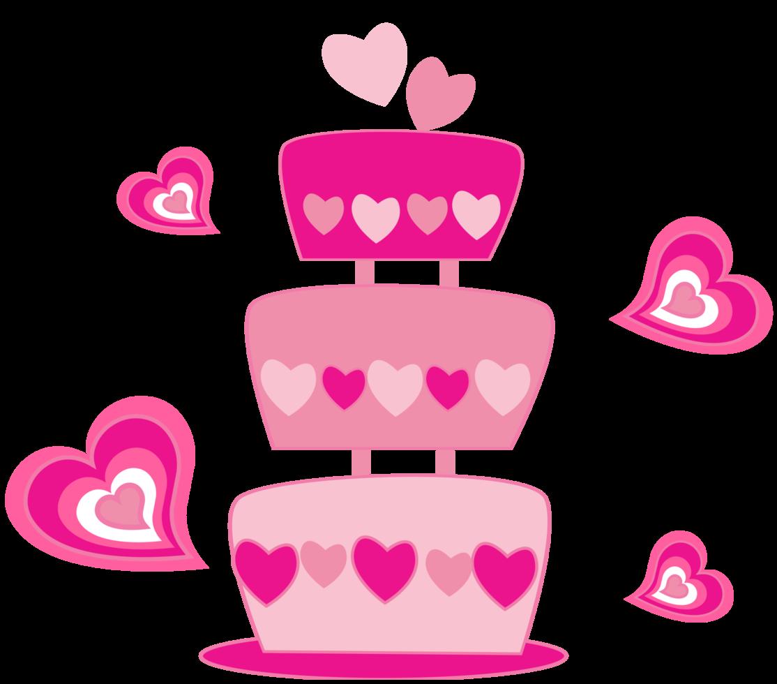 gâteau d'amour png