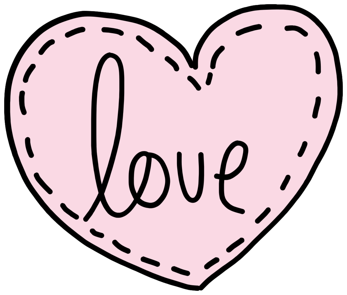 amor corazon png