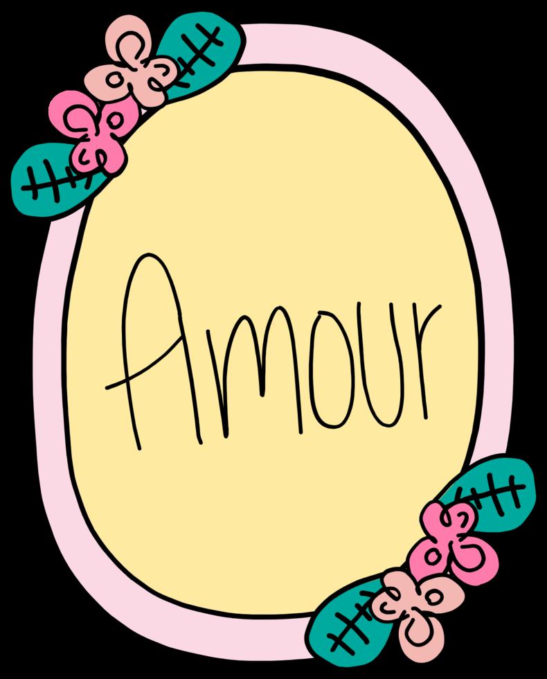 älskar amour png