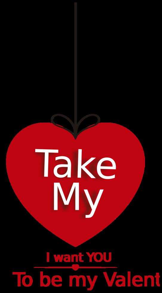 tipografia de amor png