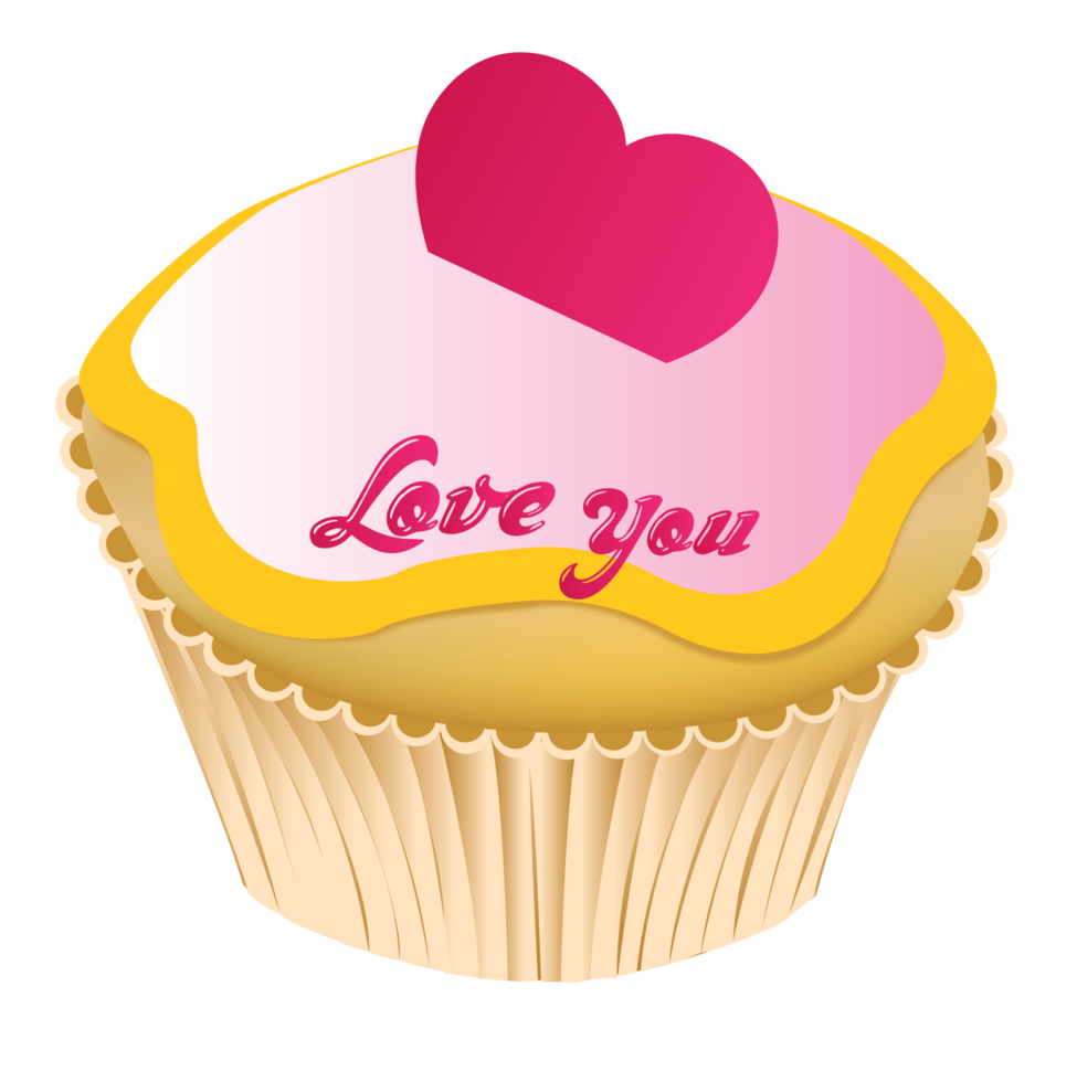 cupcake de amor png