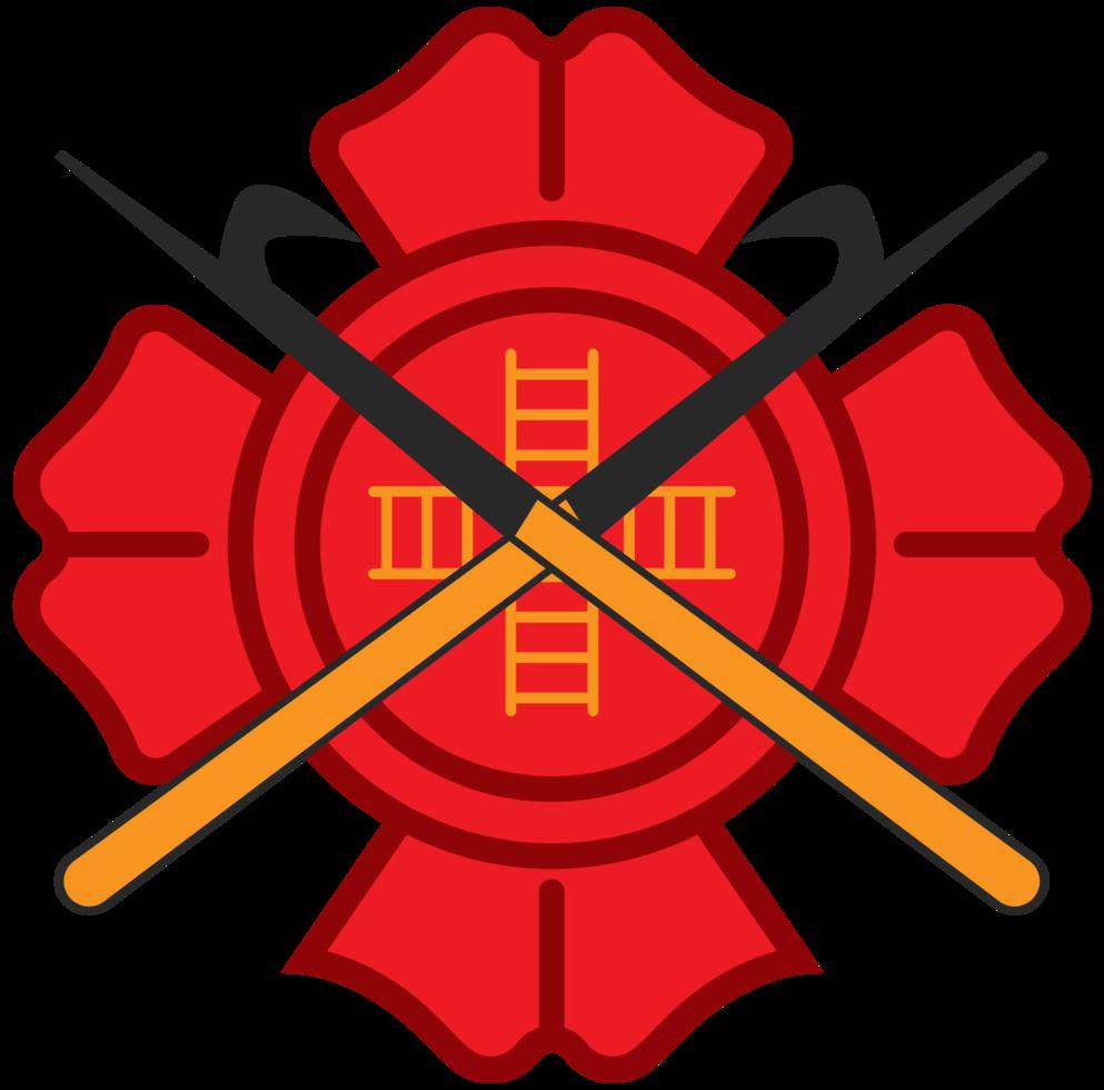cruz del departamento de bomberos de Malta png