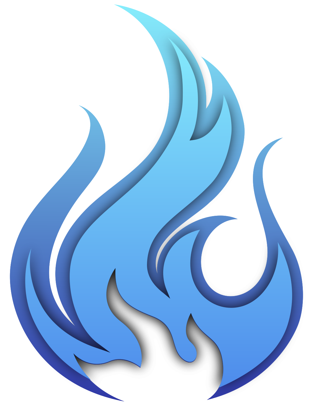 Free Blue fire 1188586 PNG with Transparent Background