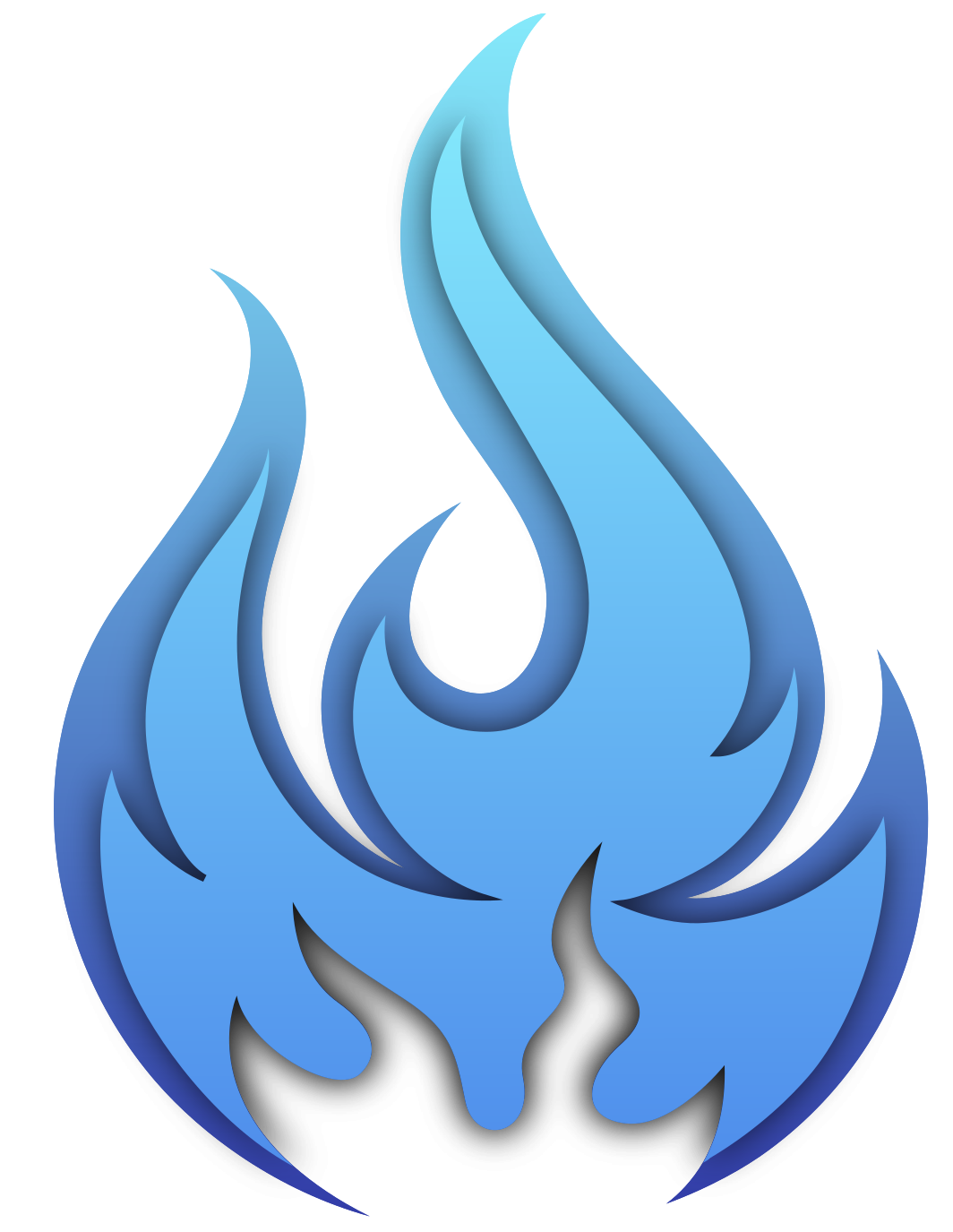 Free Blue fire 1188587 PNG with Transparent Background