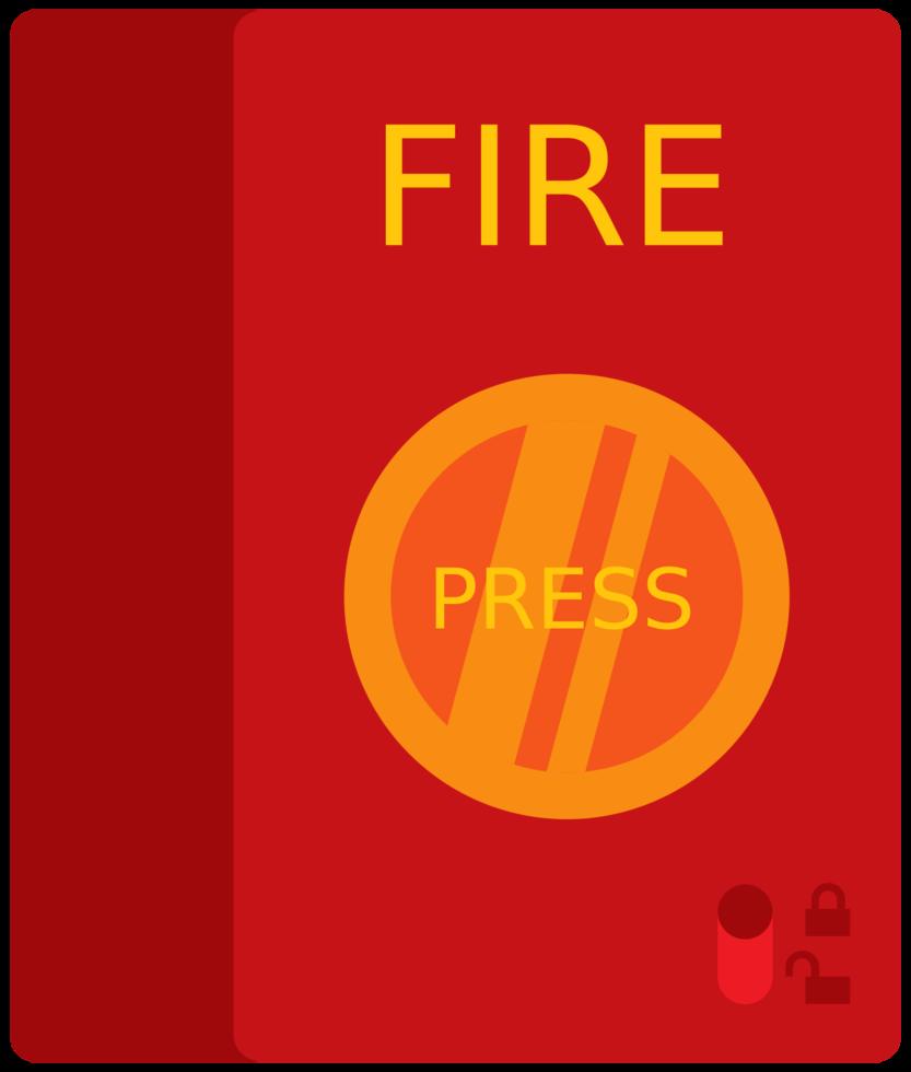 botón de bombero png
