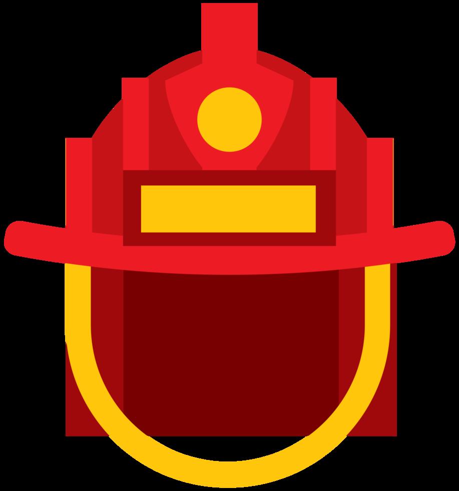 casco de bombero png