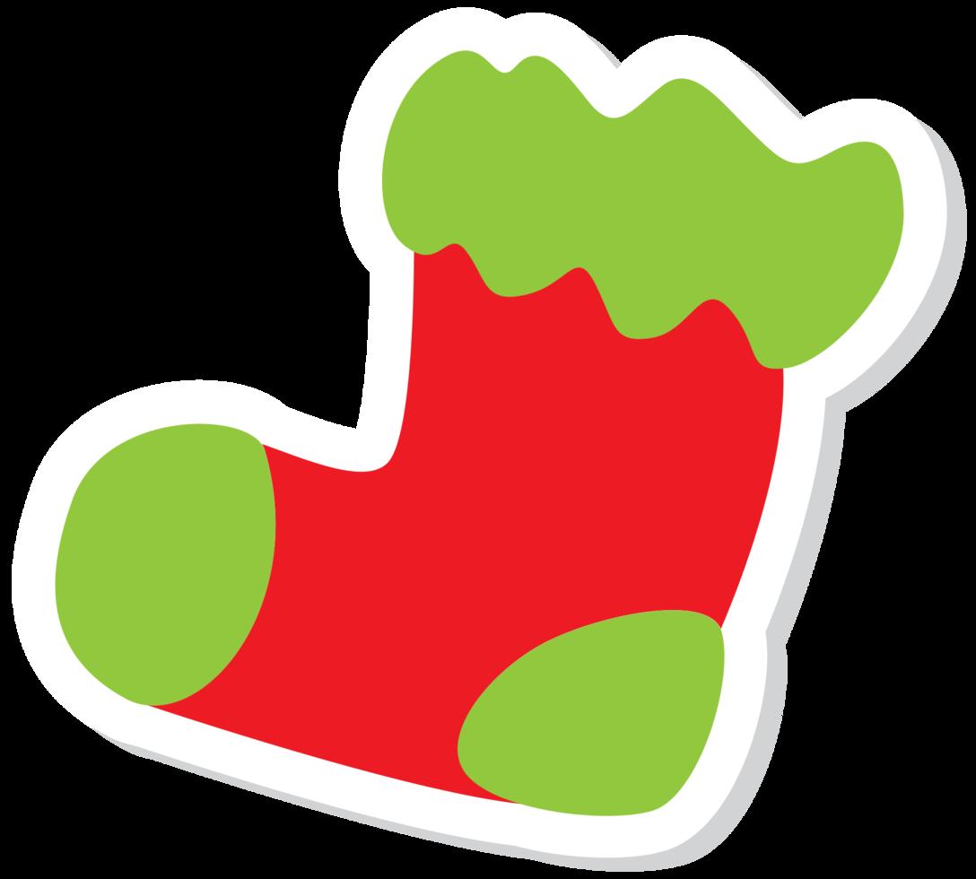 calza decorazione natalizia png