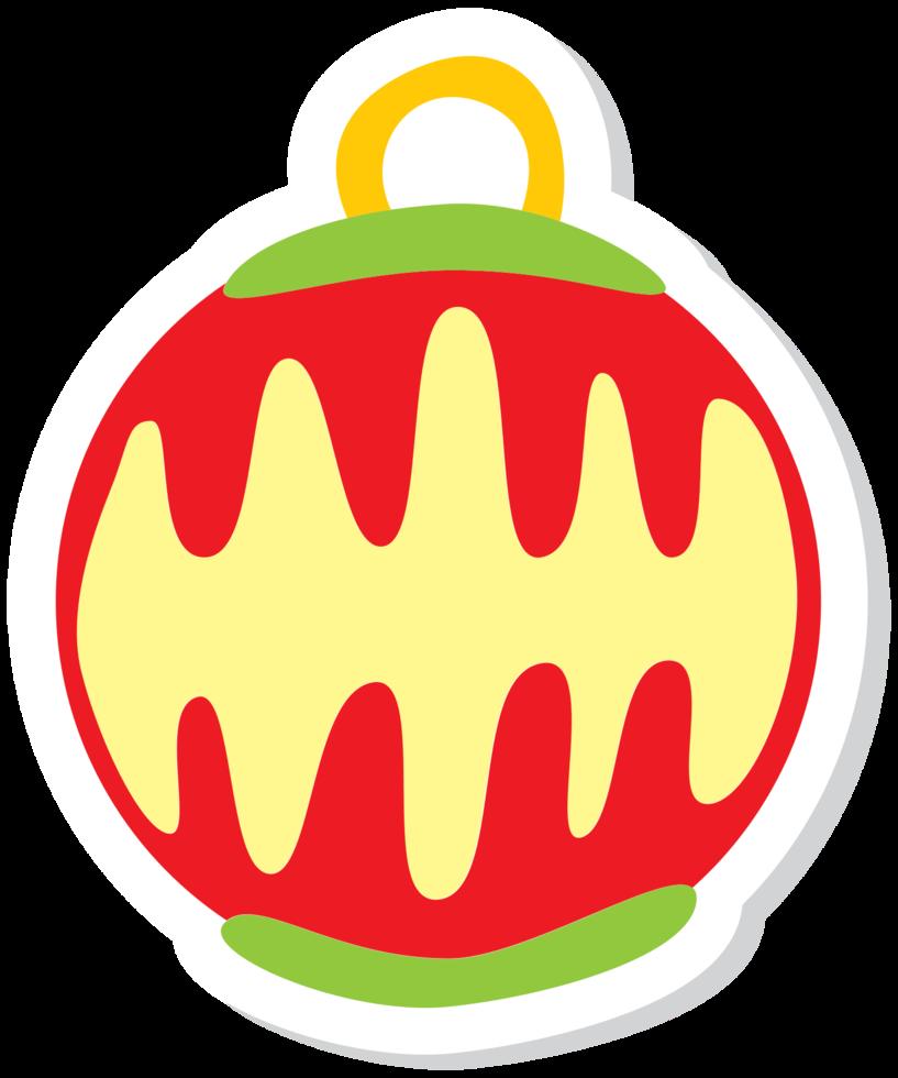 Decoración navideña png