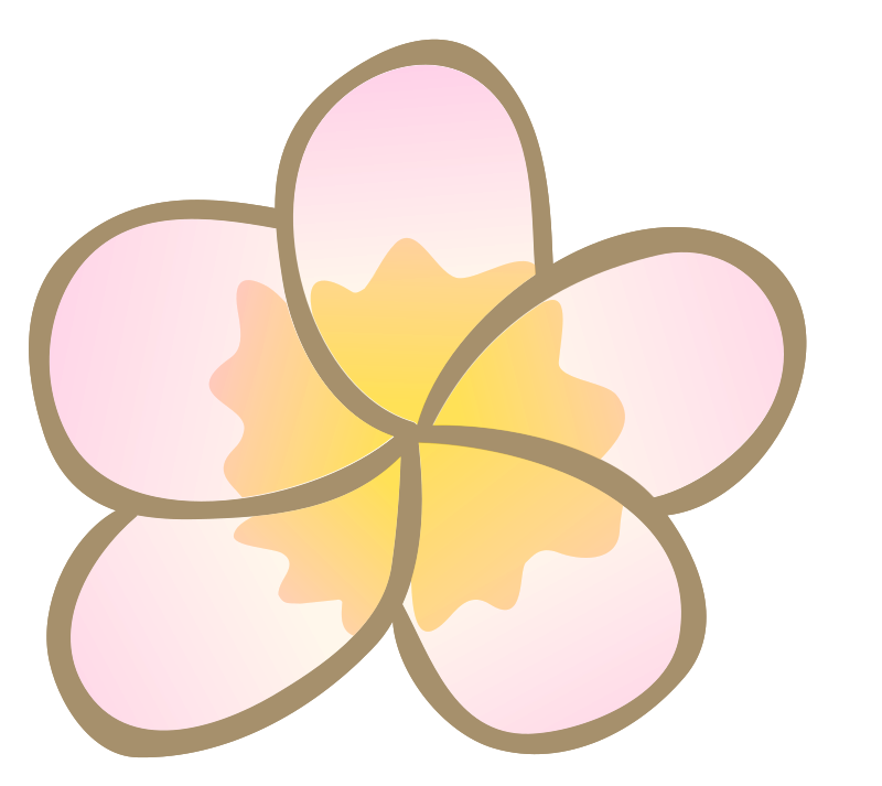 fiore polinesiano png