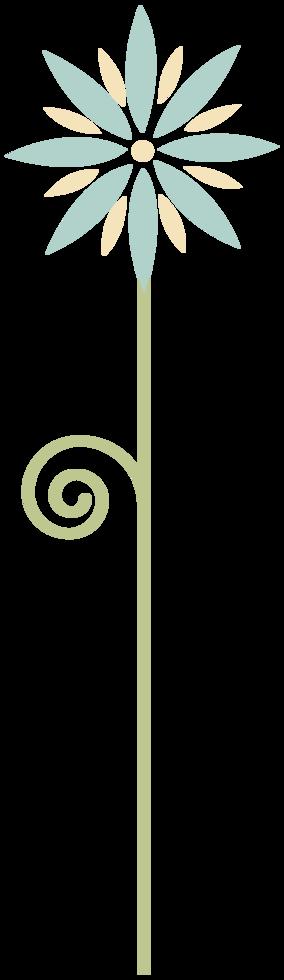 fleur minimaliste png