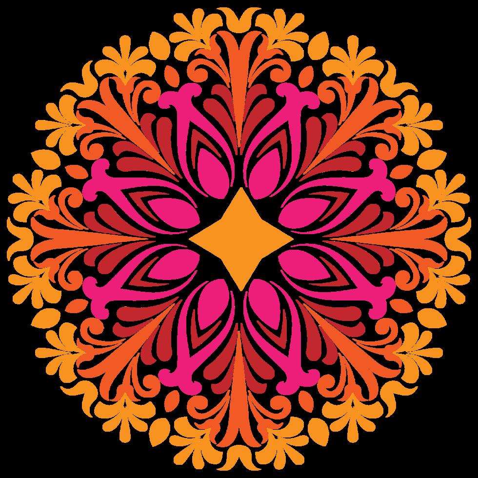 Blume dekorativ png