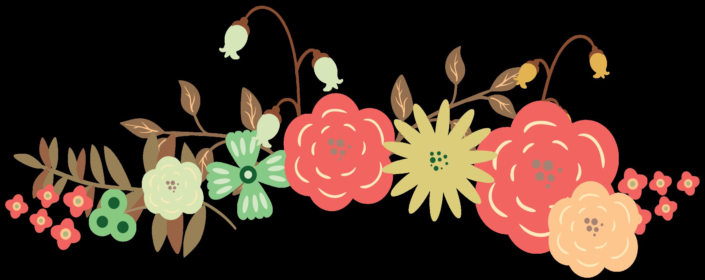 een boeket bloemen png