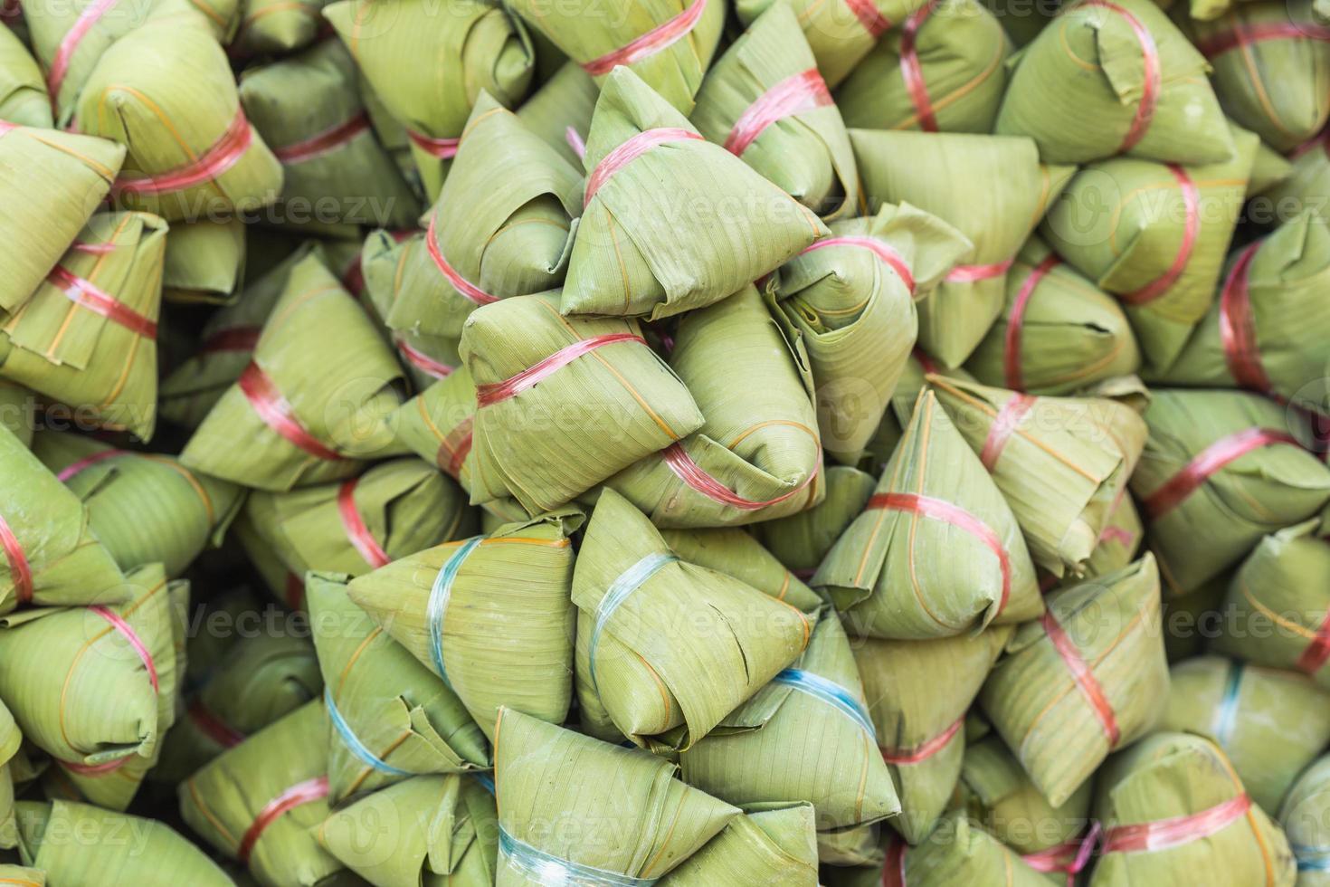 Traditional Chinese food or Ba Jang photo