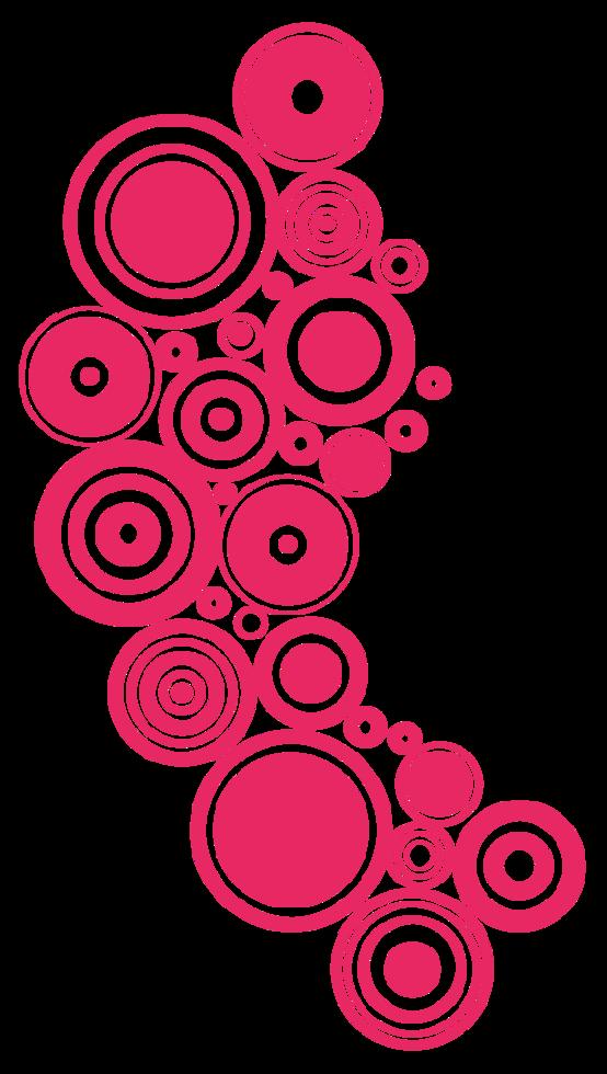 disposition du cercle png