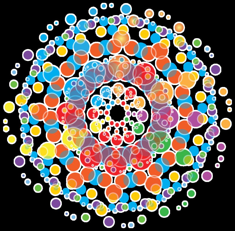 composición del círculo png