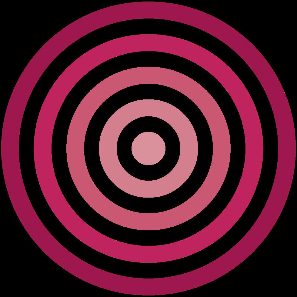 logotipo de círculo png