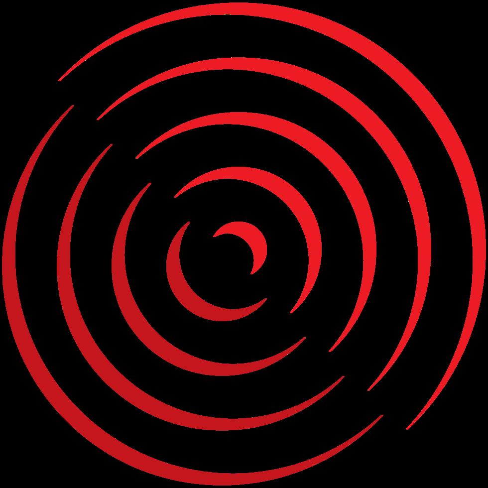 cirkel logotyp spiral png