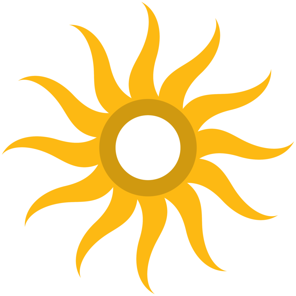 cirkel logotyp solen png