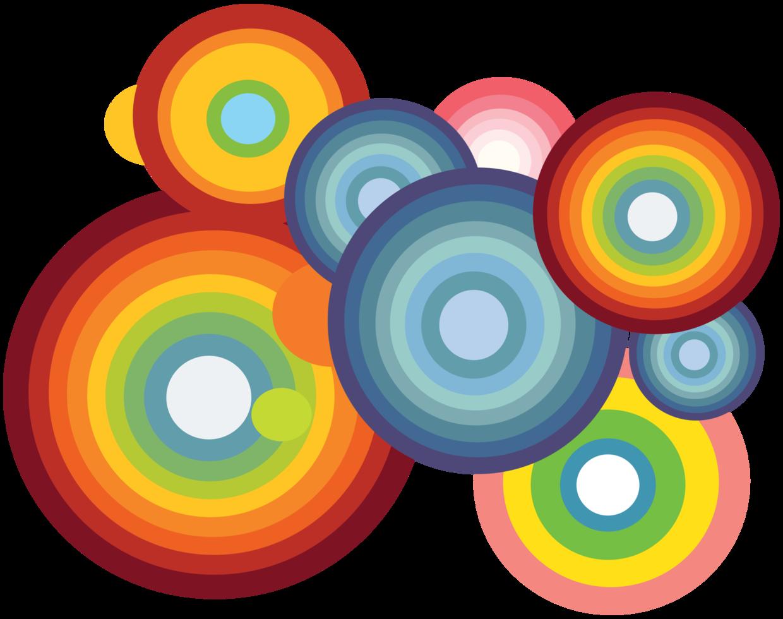 cirkel regnbo png