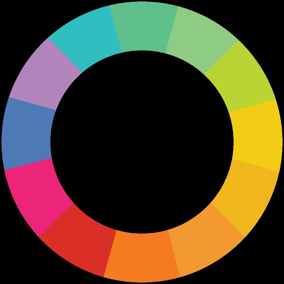 cerchio arcobaleno png